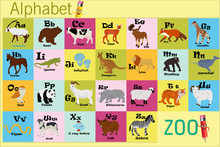 English Alphabet With Animals ...