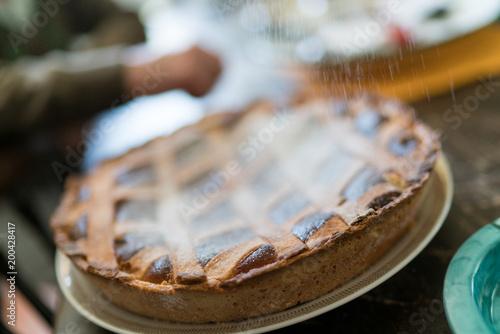 Valokuvatapetti Dolce Italiano, Pastiera napoletana (easter cake)