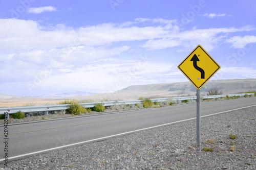 Fotografía  Carretera patagonica