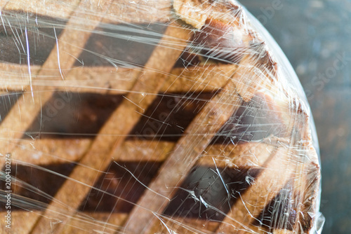 Fotografia, Obraz  Dolce Italiano, Pastiera napoletana (easter cake)