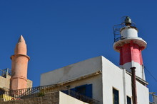 A Lighthouse In Jaffa, Israel