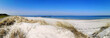 canvas print picture - Strand in der Probstei, Panoramablick