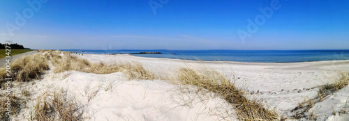 Poster Cote Strand in der Probstei, Panoramablick