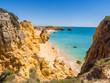 Praia de Sao Rafael (Sao Rafael beach) in Algarve region, Portugal