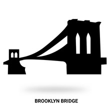 Brooklyn Bridge Silhouette Iso...