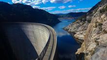 The Gordon River Dam In Strath...