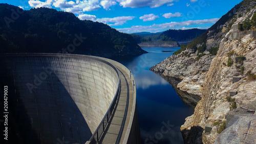 Photo The Gordon River dam in Strathgordon Tasmania, Australia