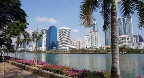 In de dag skyscrapers of bangkok