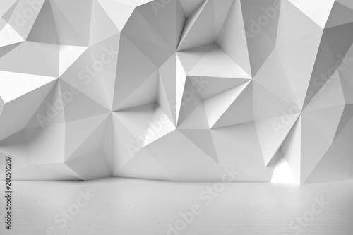 Obrazy szare szara-abstrakcja-3d