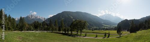Fototapeta Panorama of the Triglav mountain range, Julian Alps, Slovenia obraz