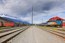 Passenger Train From Prince Rupert To Prince George.
