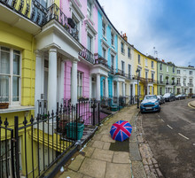 London, England - Colorful Vic...