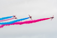 Vibrant Red Arrows