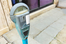 Parking Meter Vintage Design.