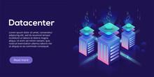 Datacenter Isometric Vector Il...