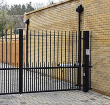 Security Gate With Keypad Lock
