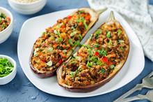 Minced Meat Quinoa Vegetables ...