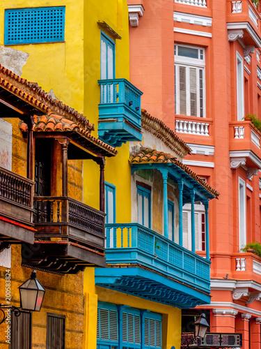 Poster Havana Havana Balconies