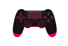 Game Controller Isolated On A ...