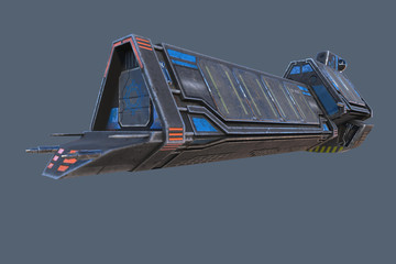 Interplanetary Cargo Space Ship