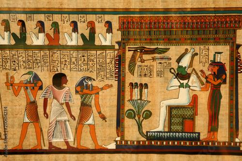 Cadres-photo bureau Egypte ancient Egyptian papyrus