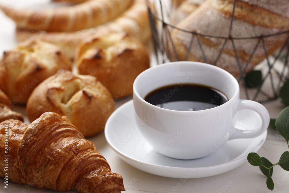 パン コーヒー