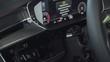 Modern car interior, dashboard, view of car control panel, smooth camera movement.
