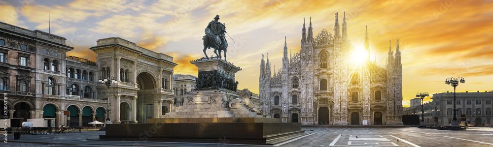 Fototapety, obrazy: Milano spirit
