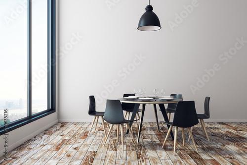 Fotografía  New dining room interior