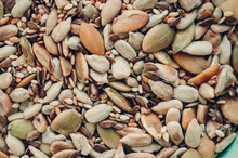 Background Of Various Seeds An...