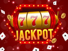 Big Win 777 Lottery Vector Cas...