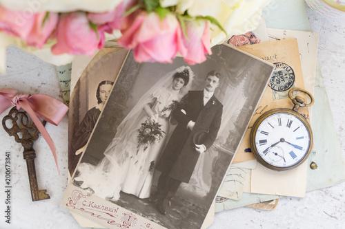 Poster  old family album