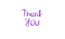Thank You Hand Lettering With ...