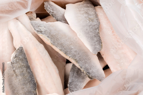 Obraz frozen fish - fototapety do salonu