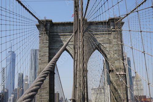 Keuken foto achterwand Brooklyn Bridge Brooklyn Bridge