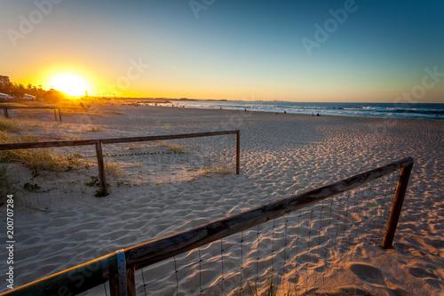 Fotobehang Pier Coolangatta Beach Access