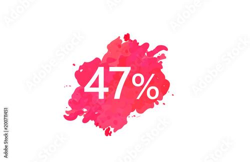 Poster  47 Percent Discount Water Color Design