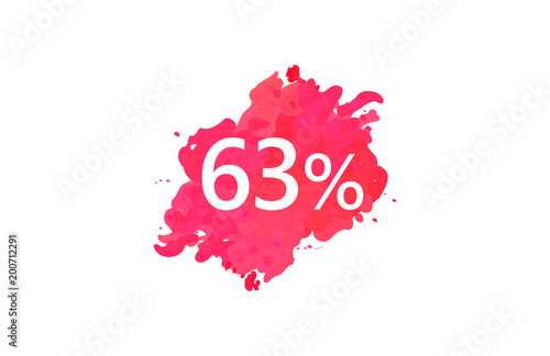 Poster  63 Percent Discount Water Color Design
