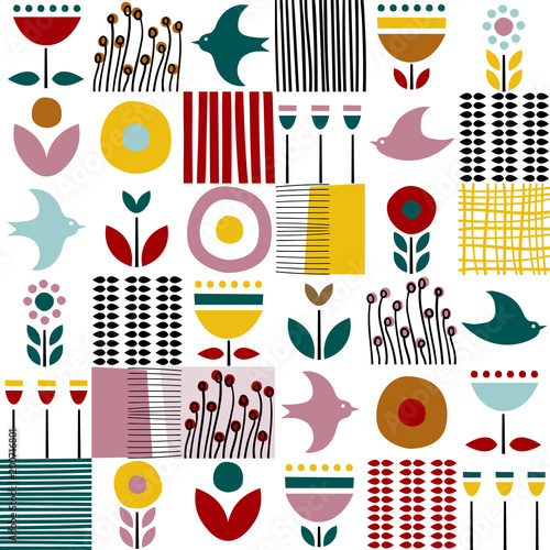 wzor-ludowej-sztuki-w-stylu-skandynawskim-nordyckim-z-ptakami-i-roslinami