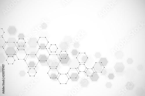 Fotografie, Tablou  Medical background or science design