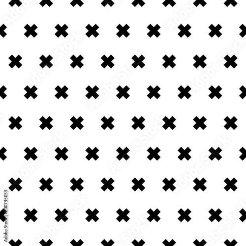Photo  Cross seamless patten background for design, vector illustration.