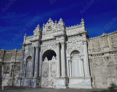 Fototapety, obrazy: Gate of Dolmabahce Palace in Istanbul