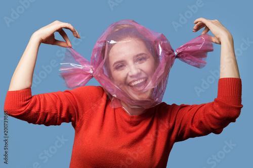Fotografía  happy candy girl