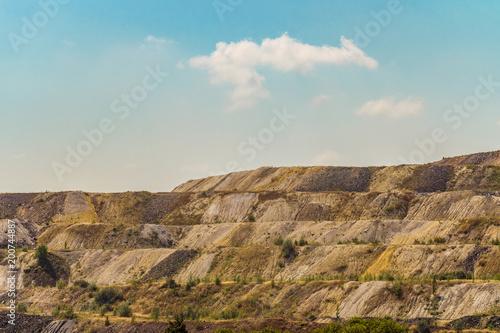 Photo Dumps of processed iron ore
