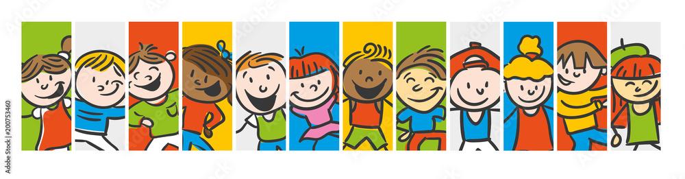 Fototapeta Kids Different colorful