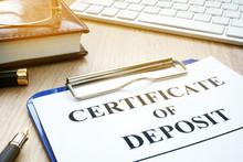 Certificate Of Deposit And Pen...