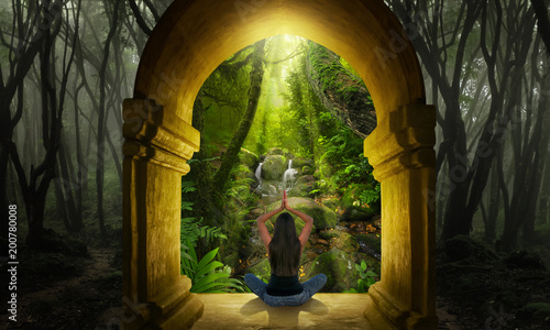 Fotografía  Meditation in the forest