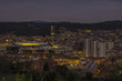 the city of Bilbao at night