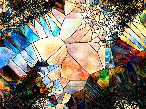 Colorful Shape Division