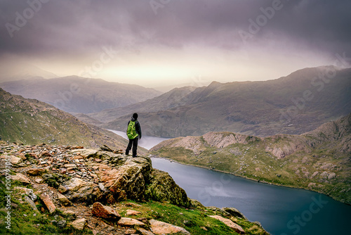 Photo Mountain adventure at Snowdon.